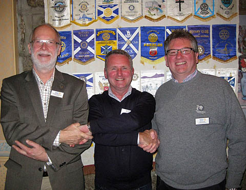 Induction of Simon Ovenden and Bob Rose
