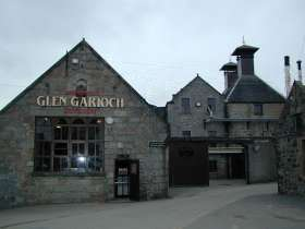 View of Glen Garioch Distillery, Oldmeldrum